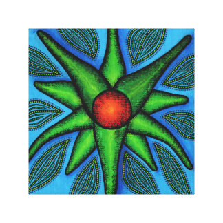 Reproduction of Fleur work Stretched Canvas Print