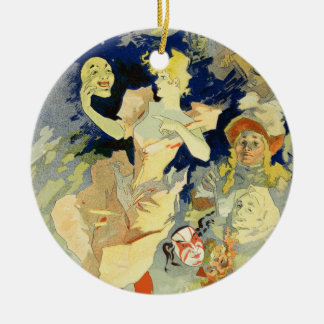 Reproduction of 'La Danse', 1891 (litho) Christmas Ornament
