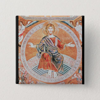 Reproduction of the mosaic 15 cm square badge