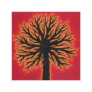 Reproduction of work abstract Tree Canvas Prints