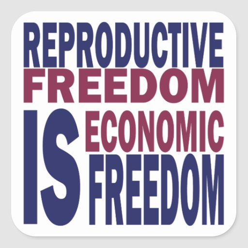 Reproductive Freedom Sticker