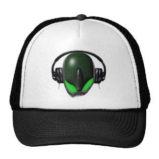 Reptile Alien {Angry} Pissed Off DJ in Headphones Cap