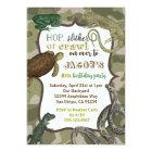 Reptile Animal Vintage Birthday Invitation