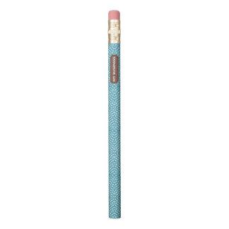 Reptile Blue White My Business Pencil