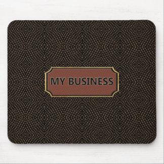 Reptile Brown Black My Business Mousepad