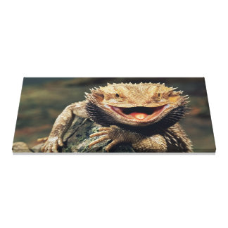 REPTILE NATURAL CANVAS PRINT
