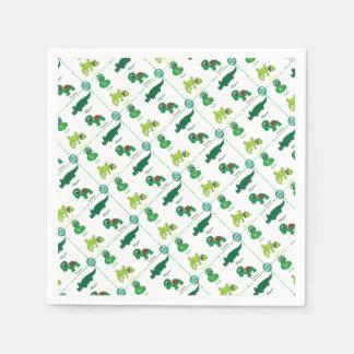 reptile paper napkin