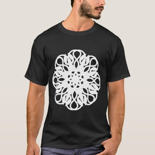 Reptilean Rose - White T-Shirt