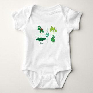Reptiles Baby Bodysuit