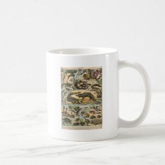 Reptiles Basic White Mug