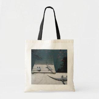 Reptiles Basking Budget Tote Bag
