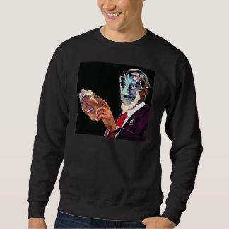 reptilian sweatshirt
