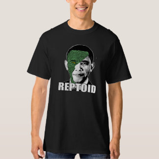 Reptoid Obama T-Shirt