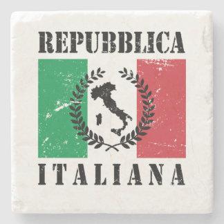 Repubblica Italiana Stone Coaster