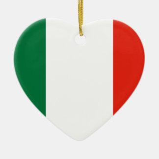 Repubblica Transpadana, Italy flag Christmas Ornament
