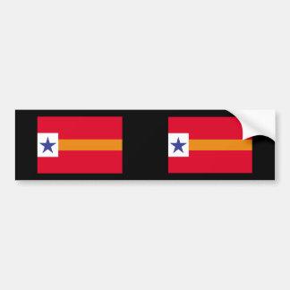 Republic Lower California Mexico Bumper Sticker