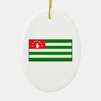 Republic of Abkhazia - Abkhazian Flag Ornament