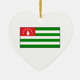Republic of Abkhazia - Abkhazian Flag Christmas Tree Ornament