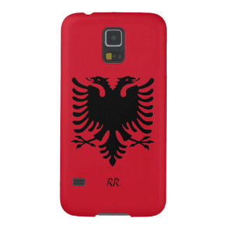 Republic of Albania Flag Eagle Galaxy S5 Case