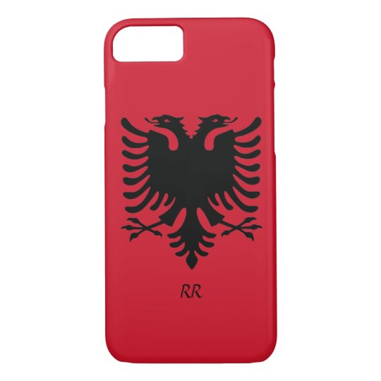 Republic of Albania Flag Eagle iPhone 7 case