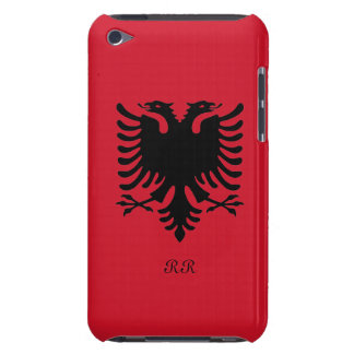 Republic of Albania Flag Eagle on iPod Touch 4G iPod Touch Covers