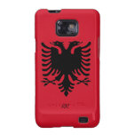 Republic of Albania Flag Eagle Samsung Galaxy Samsung Galaxy S2 Cover