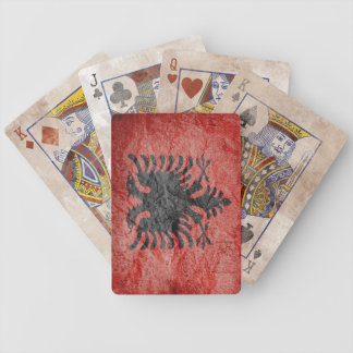 Republic of Albania Bicycle Poker Cards