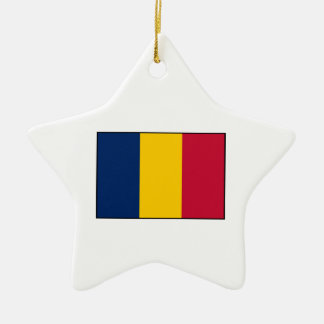 Republic of Chad – Chadian Flag Christmas Ornaments