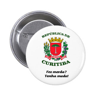 Republic of Curitiba 6 Cm Round Badge
