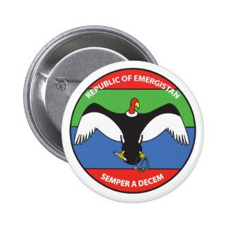 Republic of Emergistan Logo button