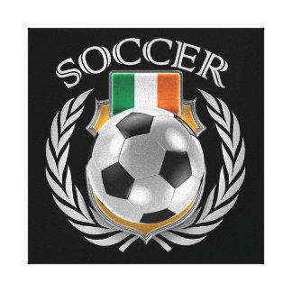 Republic of Ireland Soccer 2016 Fan Gear Canvas Print