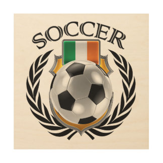 Republic of Ireland Soccer 2016 Fan Gear Wood Prints