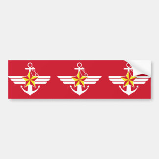 Republic Of Korea Armed Forces South Korea Bumper Sticker