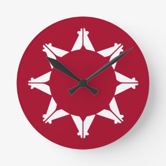 Republic of Lakotah Wall Clock