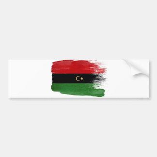 Republic of Libya Flag Bumper Sticker