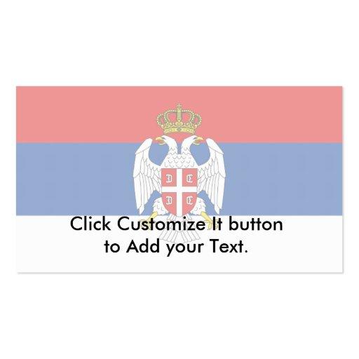 Republic Of Serbian Krajina, Croatia Pack Of Standard Business Cards
