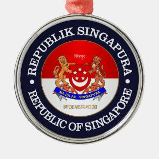 Republic of Singapore Christmas Ornament