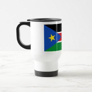 Republic of South Sudan Flag on Tshirts and Gifts Mug