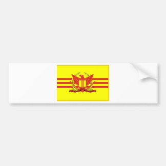 Republic of South Vietnam Military Forces Flag Bumper Sticker