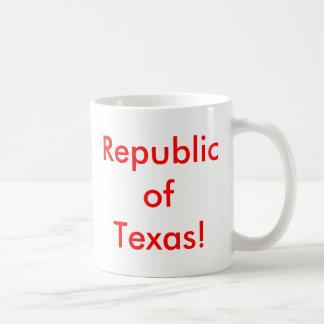 Republic of Texas! Basic White Mug