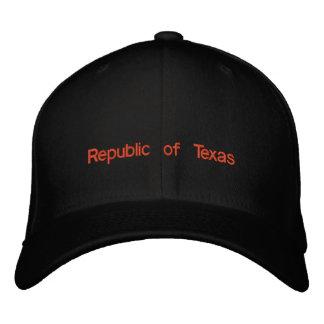Republic of Texas Embroidered Baseball Cap
