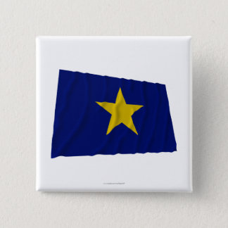 Republic of Texas Flag 15 Cm Square Badge