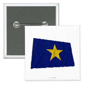 Republic of Texas Flag 15 Cm Square Badge