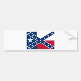 Republic of Texas Flag Bumper Sticker