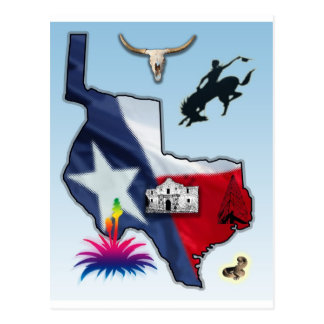 Republic of Texas Postcard