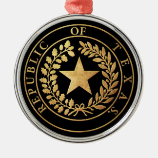 Republic of Texas Seal Christmas Ornament