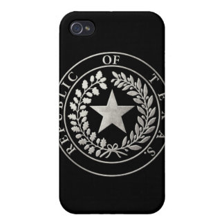 Republic of Texas Seal iPhone 4/4S Cases