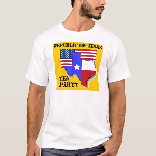 Republic of Texas Tea Party - Gold T-Shirt
