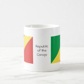Republic of the Congo flag mug