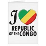 Republic of the Congo Love Card